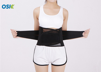 Good Quality Body Braces Support & Black Waist Support Brace With Hook - Loop Fastener For Easy / Quick Fastening on sale