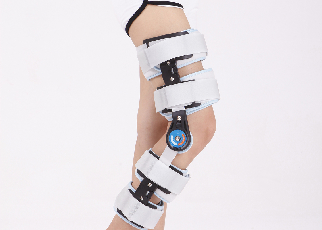 Waterproof Hinged Knee Support Brace Equipped With Slide Switches Easy To Wear