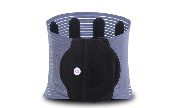 JYK-B021 Lumbar Back Support Belt Heat Compression Fabric Material Fda Approved