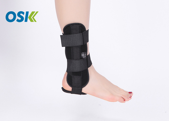Washable Ankle Injury Support , Steel Plate Support Ankle Support Splint