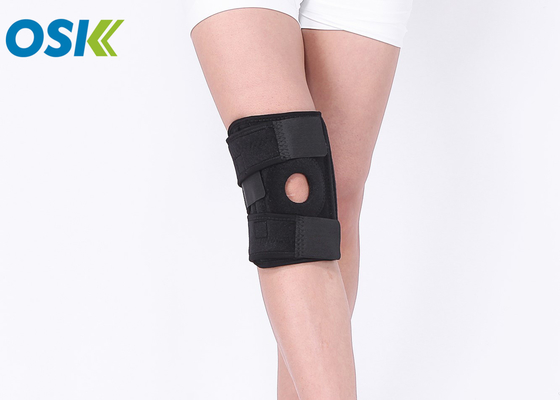 JYK-D029 Cloth Knee Brace Bandage , Osky Sports Knee Support For Sports Protection