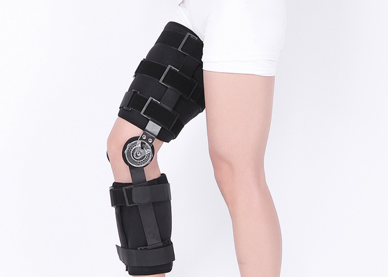 Sports Injuries Knee Support Brace 50-62cm Length Adjustable Long - Term Usage