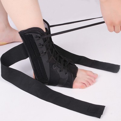 Osky D014 Ankle And Shin Support , Ankle Brace Wrap With Adjustable Strap